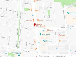 brompton junction tel aviv map